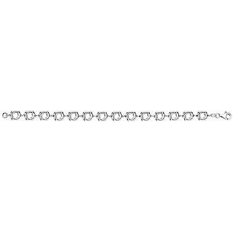 Bella Open knoop armband - zilver