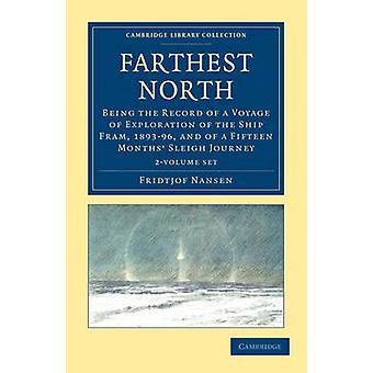 Najdalej na północ 2 tom zestaw przez Fridtjof Nansen