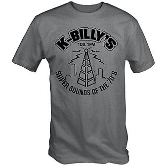 K billys super sounds of the 70's t shirt dogs resevoir