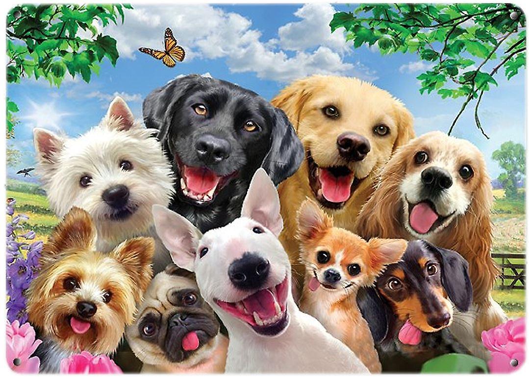 Selfie Wall Plaque - Dogs