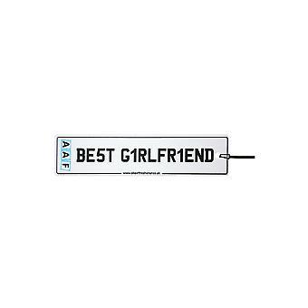 AAF - mejor novia número placa ambientador de aire