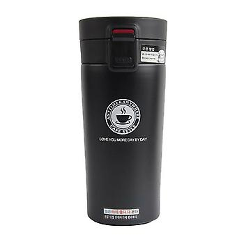 Thermos in stainless steel, 380 ml-black