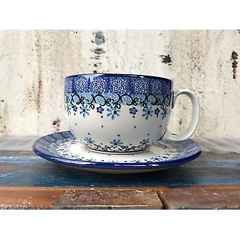 Maxi csésze csészealj, 375 ml, Fleur finom, BSN J-1775