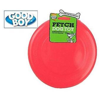 23cm in plastica Frisbee cane giocattolo