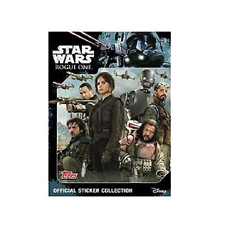 Topps Star Wars Rogue One Sticker Starter Pack