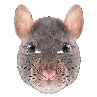Rat Animal Single 2D Card Party Fancy Dress Mask