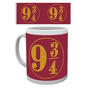 Harry Potter 9 3-4 boxarna dricka mugg