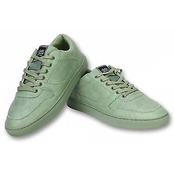 Mens shoes-Mens Sneaker Seed Essential-Olive green