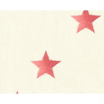 A.S. Creation AS Creation Star Pattern Wallpaper Fabric Canvas Faux Effect Textured 351835