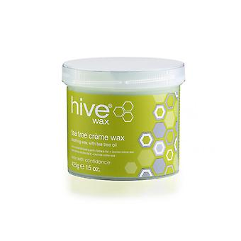 Hive Of Beauty Waxing Depilatory Tea Tree Creme Wax Lotion Hair Removal 425g