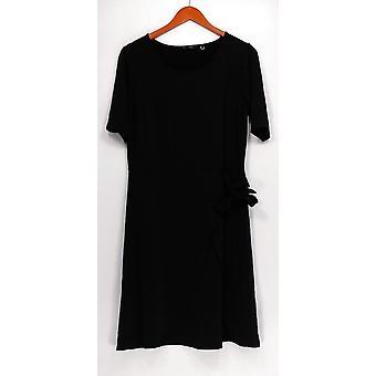 H by Halston Dress Regular Jet Set Jersey Dress Black A305356