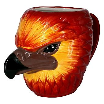 Harry Potter Fawkes 3D Mug
