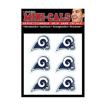 Wincraft 6 erface tarra 3cm-NFL Los Angeles Rams