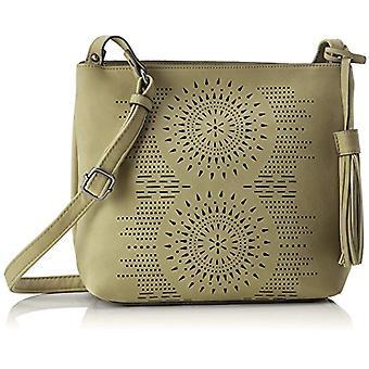 Tom Tailor Denim Nina Donna Green shoulder bags (Khaki) 9x23x28 cm (B x H x T)
