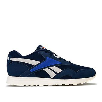 Mens Reebok Classic Rapide Mu Trainers In Navy