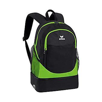 Erima Rucksack mit Bodenfach Casual Backpack - 45 cm - 31 -7 liters - Green (Green Gecko/schwarz)