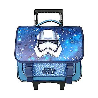 Bagtrotter SWNI18CASQ Star Wars Trolley for School - size-38 x 14 x 33 cm - Colour-Nautic Grey