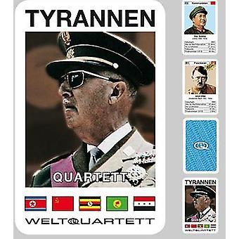 Tiran Quartet dictator Hitler Quartet kaartspel