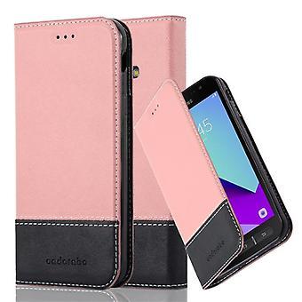 Cadorabo Case for Galaxy XCover 4 / XCover 4S sagskabinet - Telefonetui med magnetisk lås, ståfunktion og kortrum – Case Cover Protective Case Case Book Folding Style