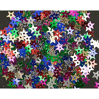 400 Assorted Colour 5mm Sequin Stars for Crafts   Sequin Craft Supplies