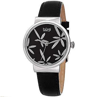 Burgi Clock Woman Ref. BUR191BK function