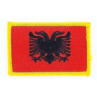 التصحيح Ecusson برود العلم ألبانيا البانشارة الحرارية شارة بلاسون