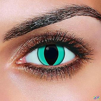 Aqua Cat Contact Lenses (Pair)
