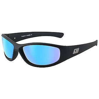 Dirty Dog Boofer Sunglasses - Black/Ice Blue