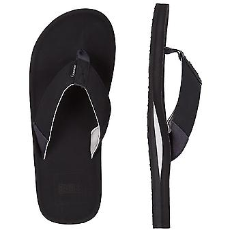 ONeill Chad Canvas Sandals in Black Out