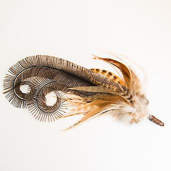 Elm Of Burford Roaring 20's Feather Hat Mount