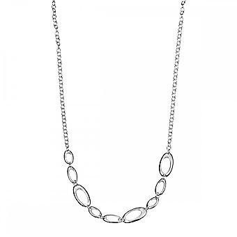 Beginnings Sterling Silver Open Oval Link 45cm Necklaces N2924