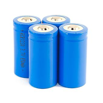 4 Pack of RCR123a 3.7V Rechargeable Li-Ion Battery 16340 Works with Arlo Cameras