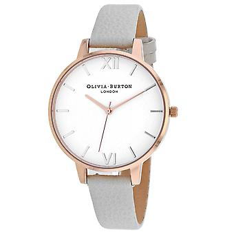 Olivia Burton Women's Classic White Dial Watch - OB16BDW11