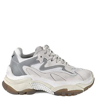 Ash ADDICT Sneakers Distressed White Leather & Mesh