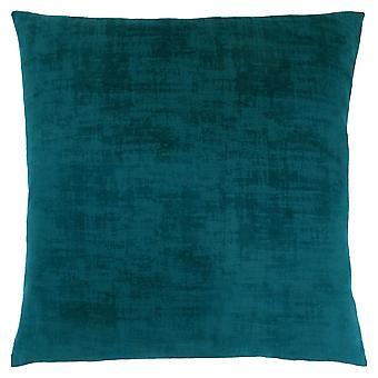 """18"""" x 18"""" Turquoise, Brushed Velvet - Pillow"""