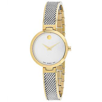 Movado Women's Amika Mother of Pearl Dial Watch - 607362