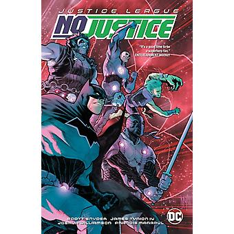 Justice League No Justice by Snyder & ScottWilliamson & Joshua