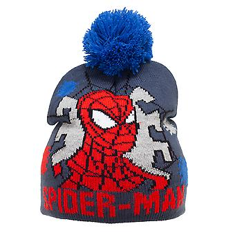 Spider-Man Childrens/Kids Beanie Bobble Hat