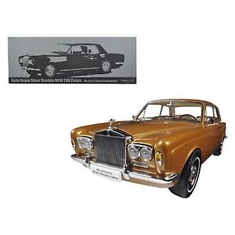 1968 Rolls Royce Silver Shadow Bronze 1/18 Diecast Model Car par Paragon