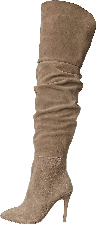 Chiński Pralnia Kristin Cavallari Kobiety's Calissa Over the Knee Slouch Boot 6wZhl