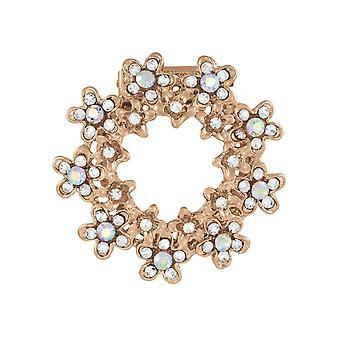 Ewige Sammlung Marguerite Aurora Borealis Crystal Schal Clip