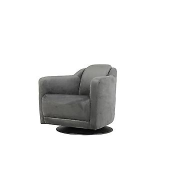 Light & Living Chair 70x83x70cm Zurich Velvet Grey
