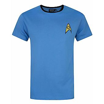 Star Trek Science and Medical Uniform Blue James T Kirk Men's T-Shirt