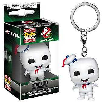 Ghostbusters Stay Puft Pocket Pop! Keychain