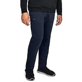Under Armour Men's Rival fleece Pants, Academy, Academy (408)/Black, Size Medium