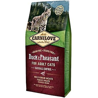 Carnilove Hairball Control Duck & Pheasant (Cats , Cat Food , Dry Food)