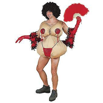 Twirling Tessie Adult Costum