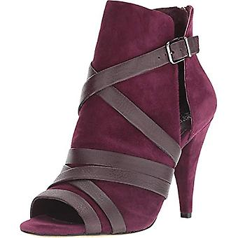 Vince Camuto Femmes Achika Cuir Open Toe Ankle Fashion Boots