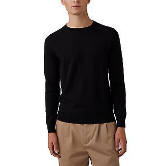 Closed C8600590s22100 Men's Black Cotton Sweater