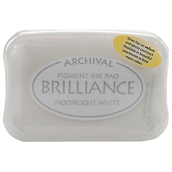 Brilliance Pigment Ink Pad-Moonlight White
